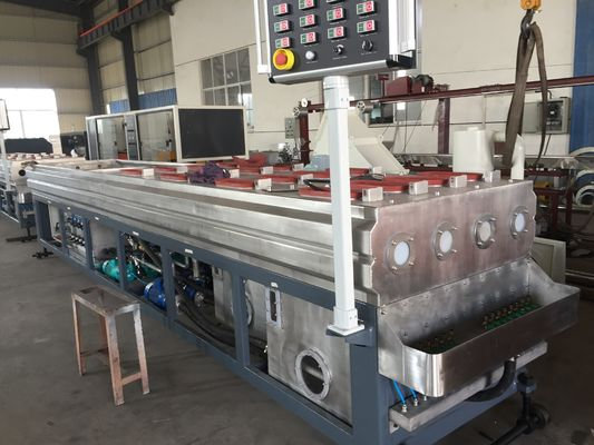 China Full Automatic Highest Quality Four Electrical Conduit PVC Pipe Extrusion Machine Line supplier